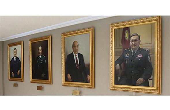 PORTRAITS OF INTELLIGENCE ORGANIZATION'S DIRECTORS